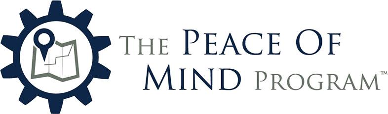 The Peace of Mind Program logo